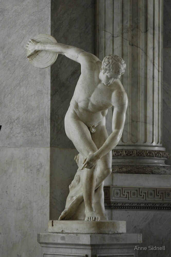 Roman Statue by Anne Sidnell