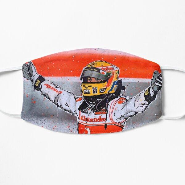 Lewis Hamilton - McLaren F1 graffiti painting by DRAutoArt Flat Mask