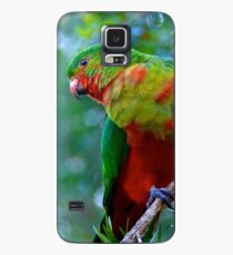 King Parrot Case/Skin for Samsung Galaxy