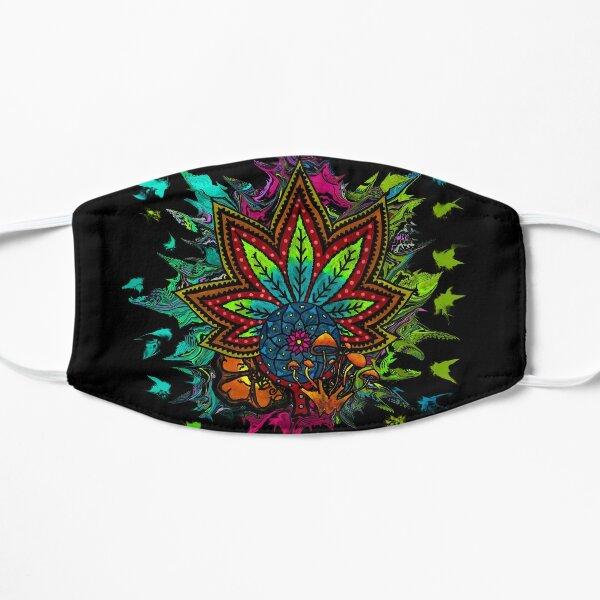 Plant Medicine Flat Mask