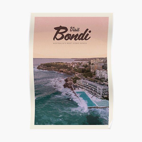 Visit Bondi Poster