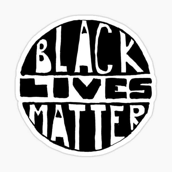 Black Lives Matter - Filled Sticker