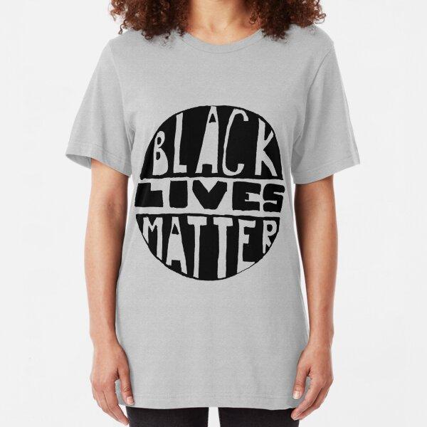 Black Lives Matter - Filled Slim Fit T-Shirt