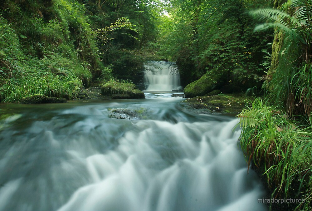 Falling waters by miradorpictures