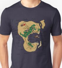 Pirate Map Unisex T-Shirt
