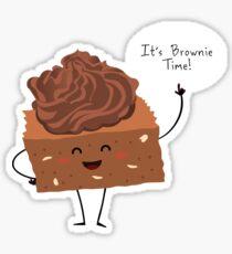 BROWNIE TIME! Sticker