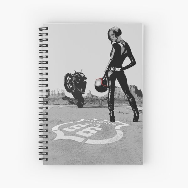Route 66 por Highride Lifestyle Cuaderno de espiral