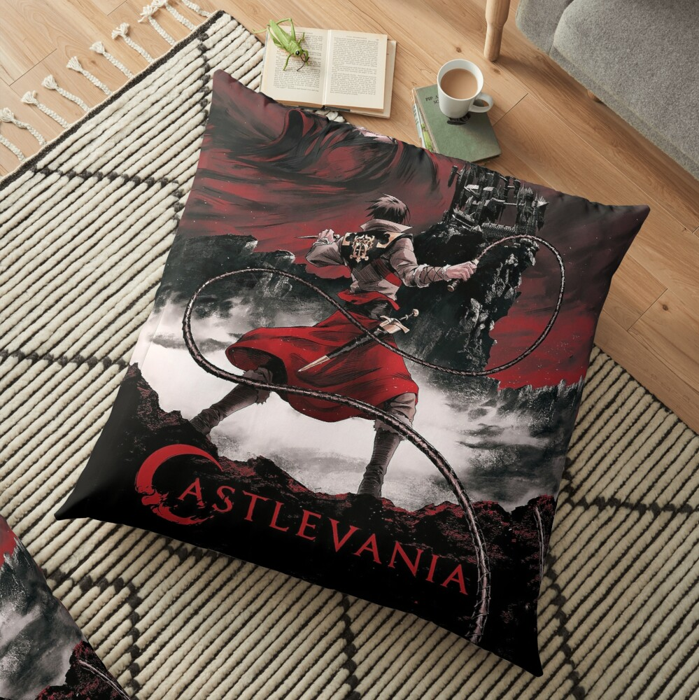 Dark night Floor Pillow