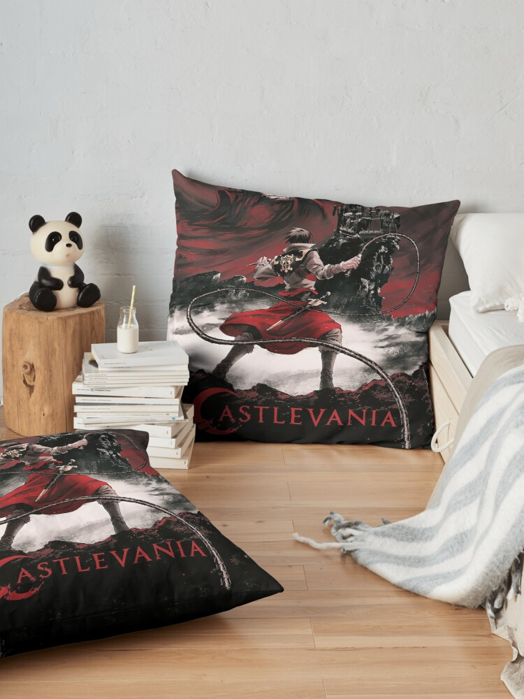 Alternate view of Dark night Floor Pillow