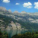 Switzerland, Lake Walensee, by Daidalos