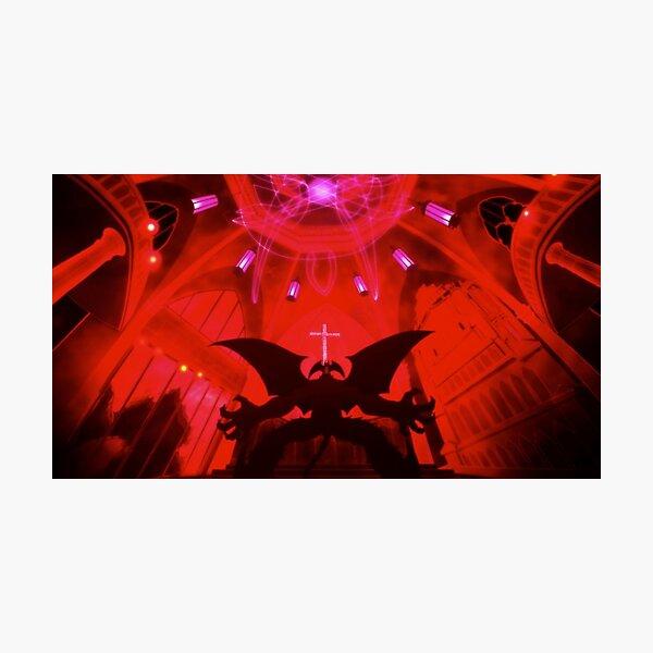 devilman crybaby sabbath Photographic Print