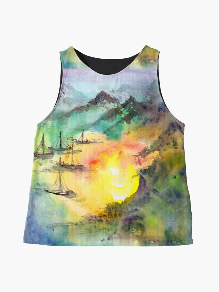 Alternate view of Sailing Home Sleeveless Top