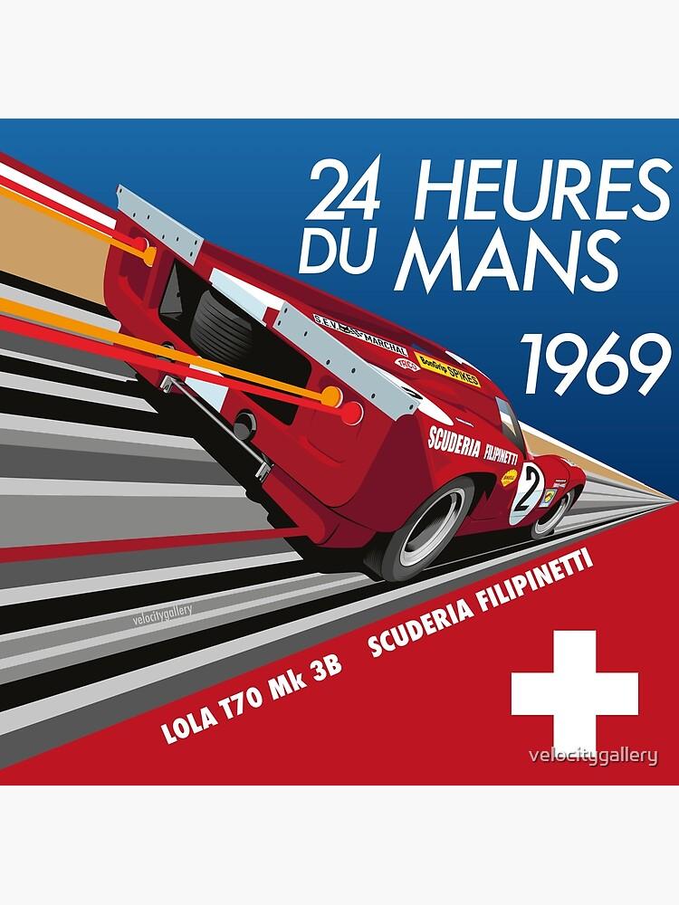 Le Mans 1969 Lola by velocitygallery