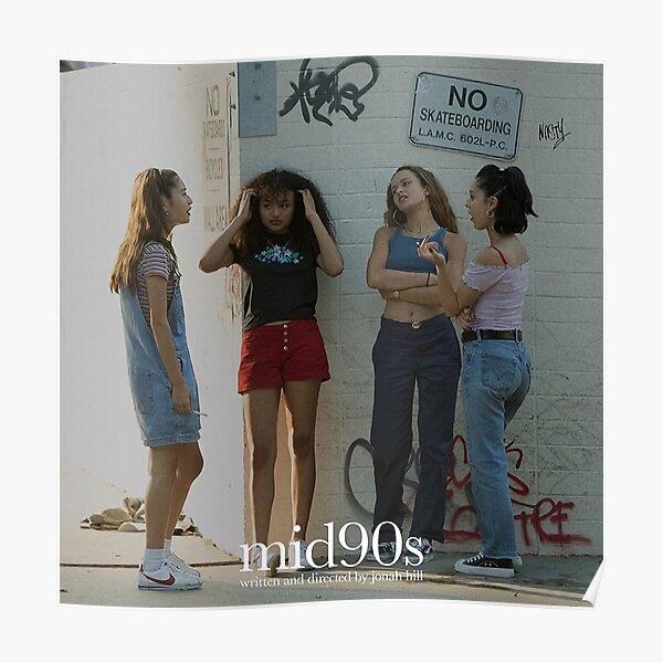 Girl 90s Poster