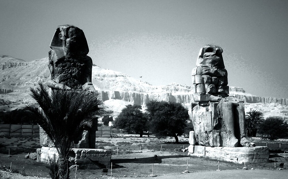 Magical sphinxes in Luxor,Egypt. by julianopereira