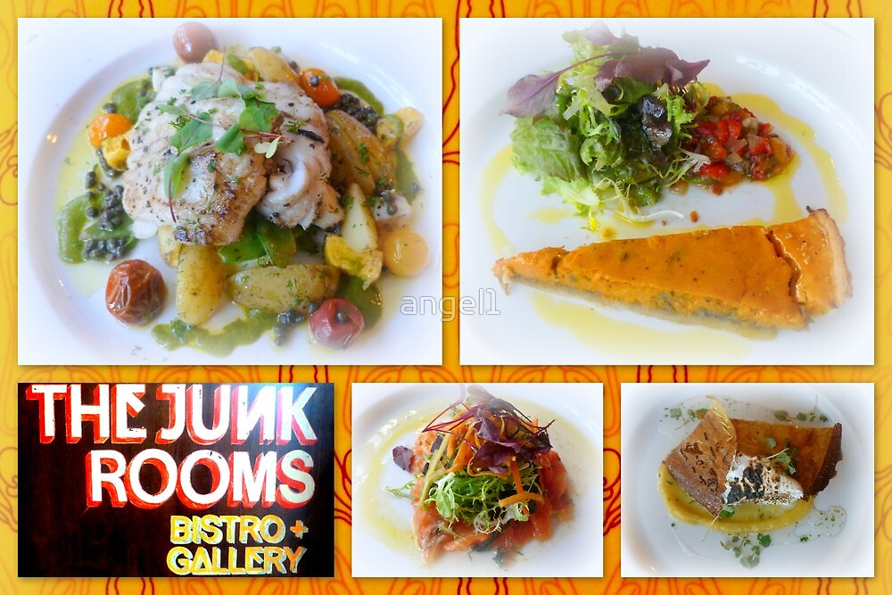 Dinner at The Junk Rooms by ©The Creative  Minds
