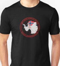 ANTARCTICA - USA/Norway Unisex T-Shirt