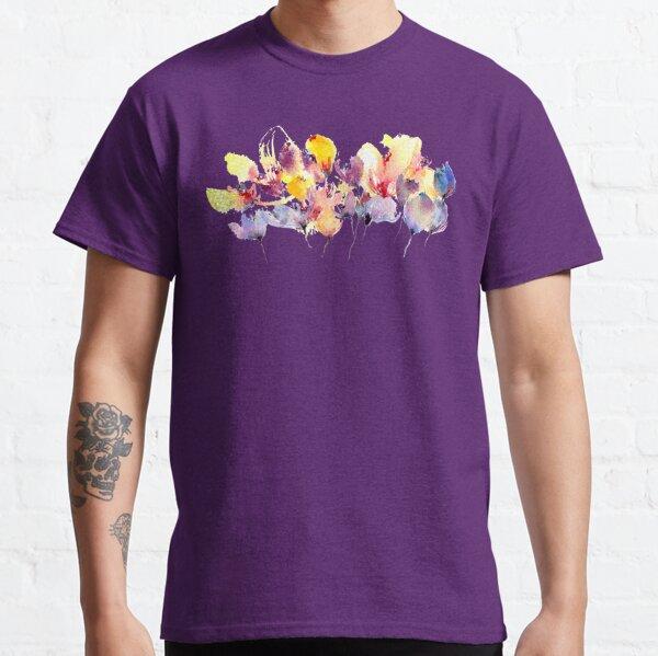 Wild Flowers - Yellow and Purple Classic T-Shirt