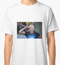 Boris competes in Olympic javelin Classic T-Shirt
