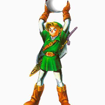 Link Catch'Em All by retrohelmet
