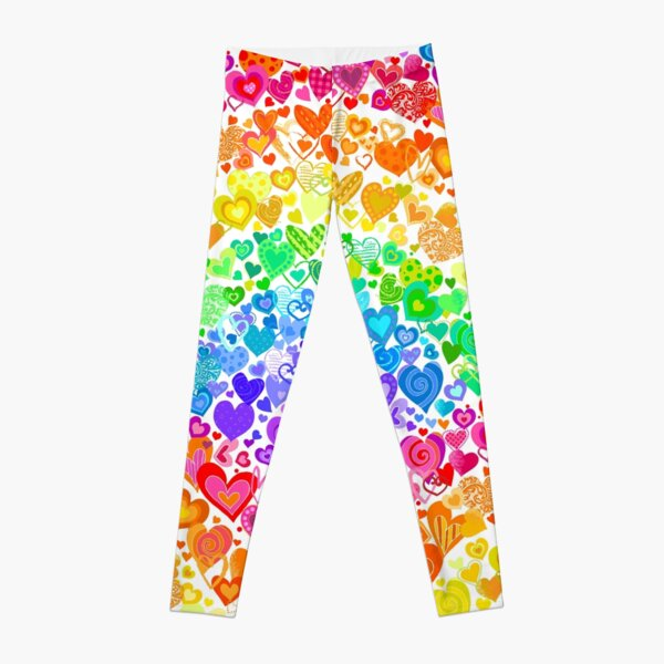 Heart Rainbows Leggings