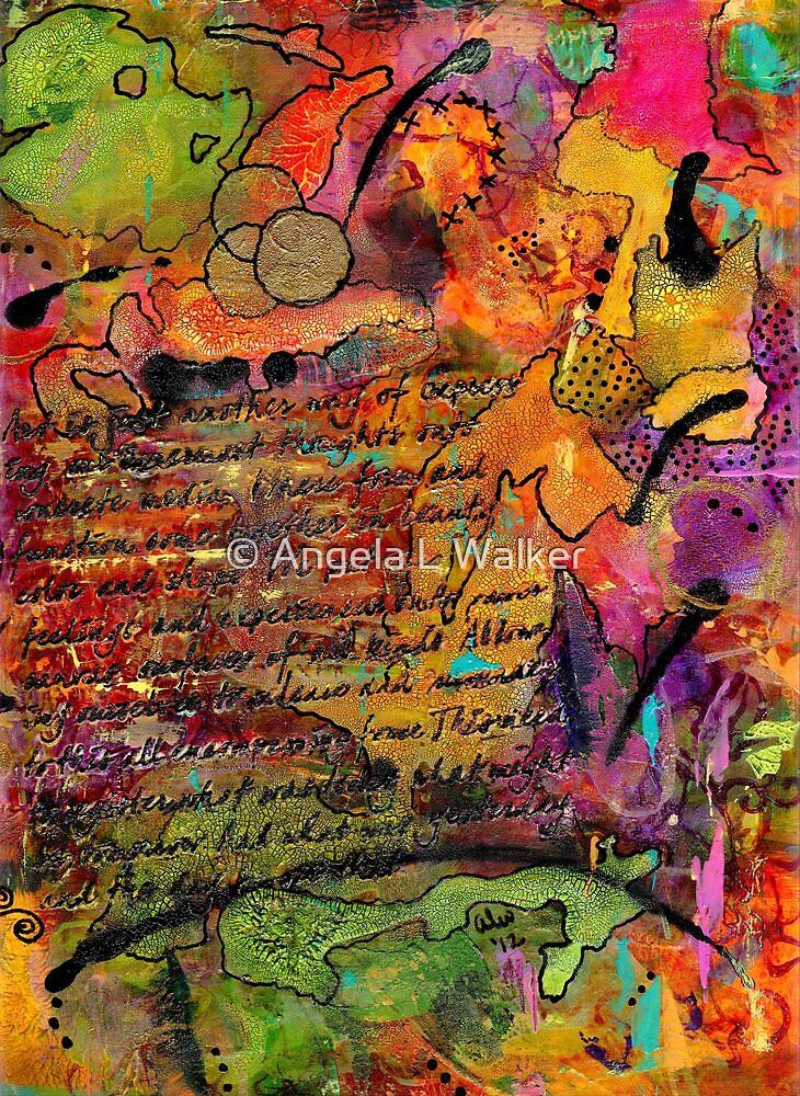 Colorful Journal-FINAL by © Angela L Walker