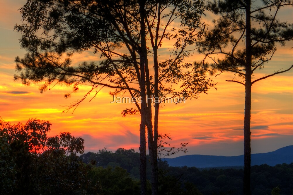 Coosawattee Sunset by James Harmon