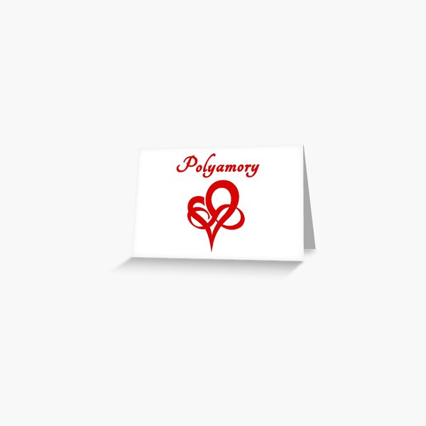 Polyamory Greeting Card