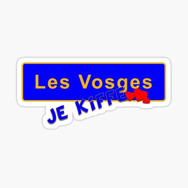 Les Vosges je kiffe Sticker