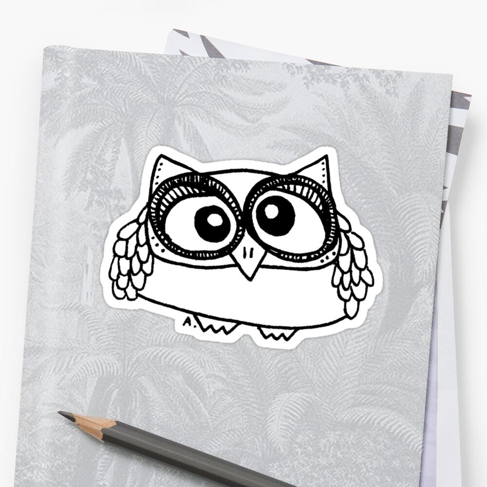 Owl number 13 by annieclayton