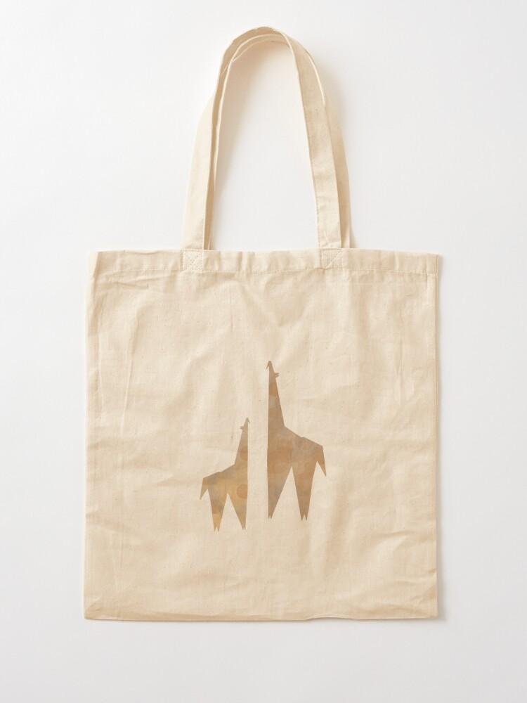 Alternate view of Origami Giraffe Tote Bag