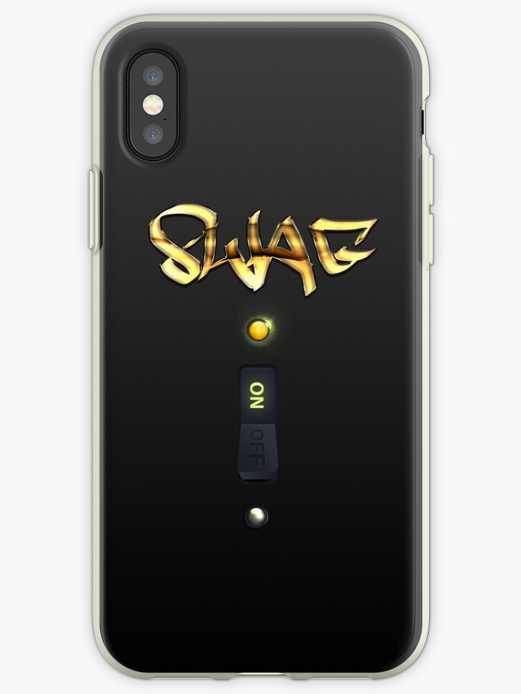 Graffiti SWAG ON Switch iPhone Case by cdoty
