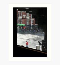 City Intersection Art Print