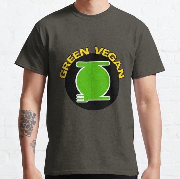 Green Vegan Classic T-Shirt