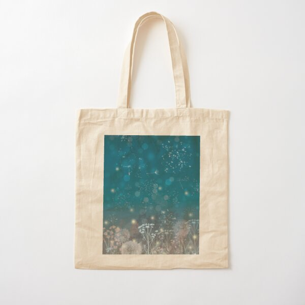 Flight Of The Fireflies Cotton Tote Bag