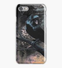 Raven Black iPhone Case/Skin