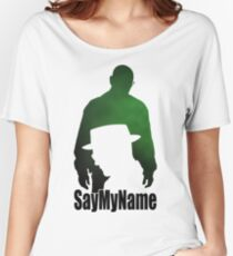 S5E7 Say my name Women's Relaxed Fit T-Shirt
