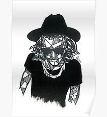 Geometric Harry Styles Poster