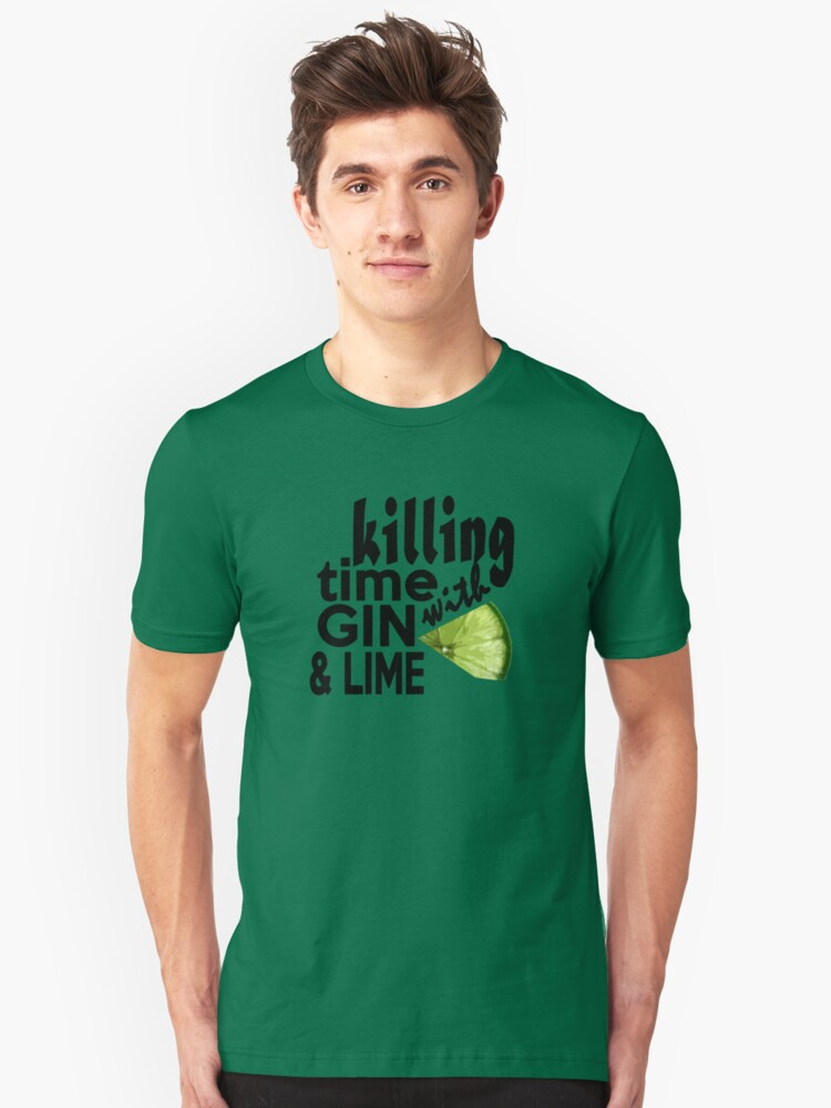 Holding Her Tonic Like a Cross Unisex T-Shirt Front