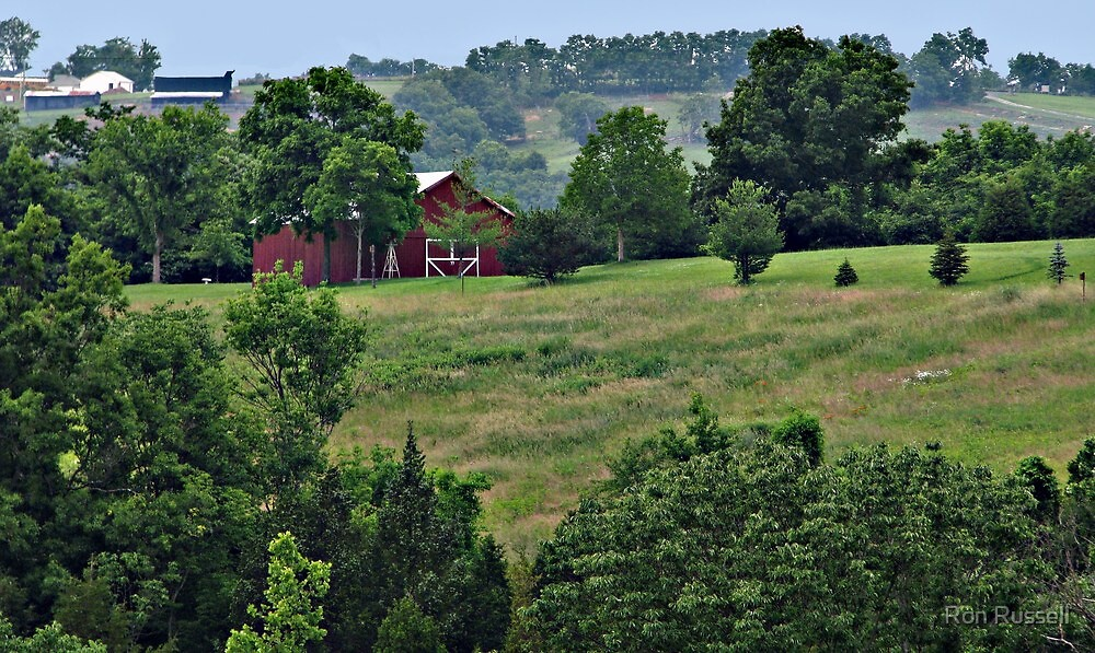 Just another Fine Day In Bluegrass Country by Ron Russell
