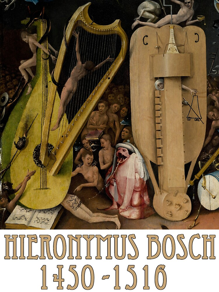 Hieronymus Bosch - Garden of Earthly Delights - Detail #4 by Chunga