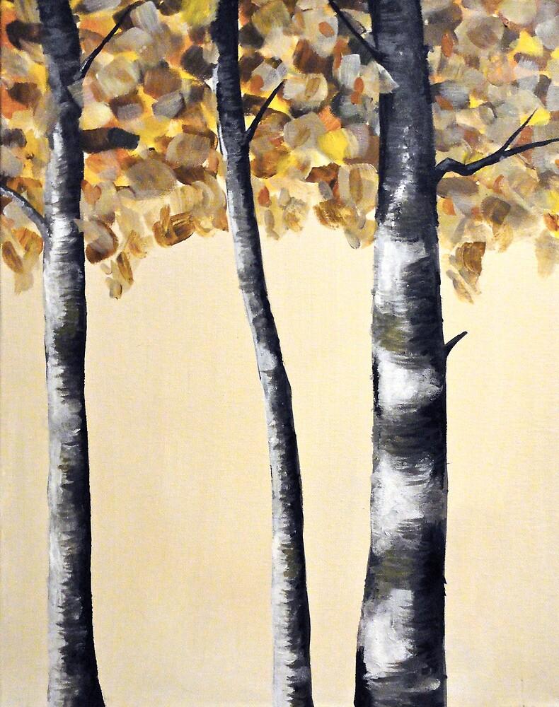 Birch Tree by codyvandezande