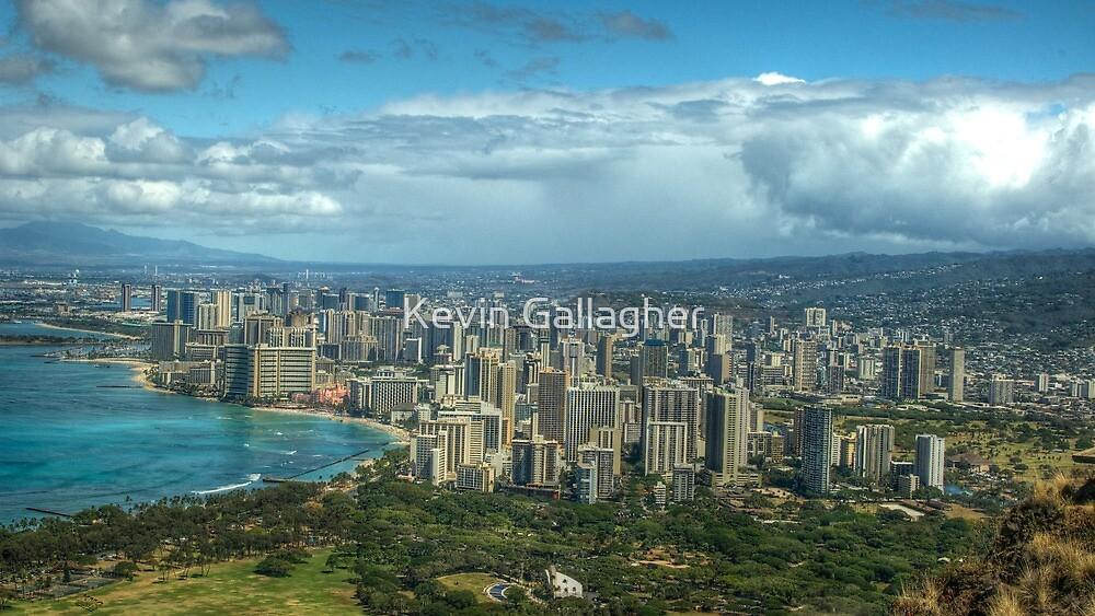 Waikiki, Hawaii by Kevin Gallagher