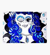 Bluemaid- 2014  Photographic Print