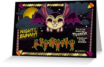 Night of the Bunny by spicydonut