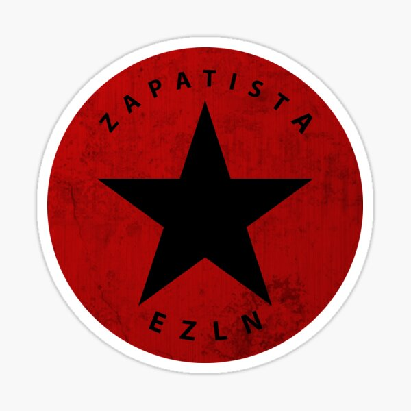 Ezln t-shirt design with grunge and dirt effect gift idea Sticker
