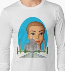 head of the taj mahal Long Sleeve T-Shirt