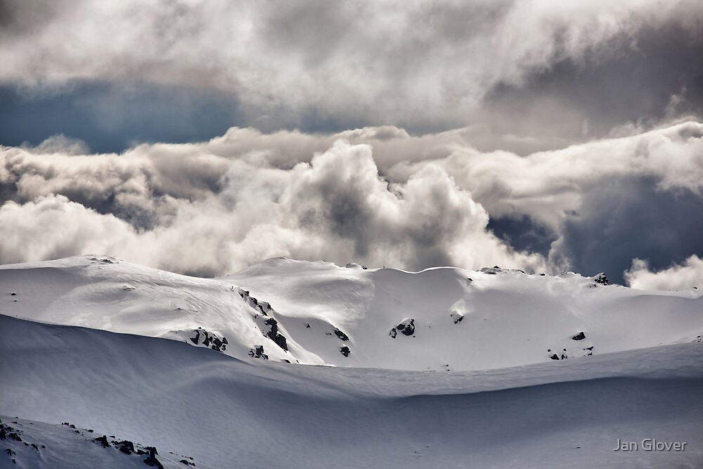 View towards Mt Townsend by Jan Glover