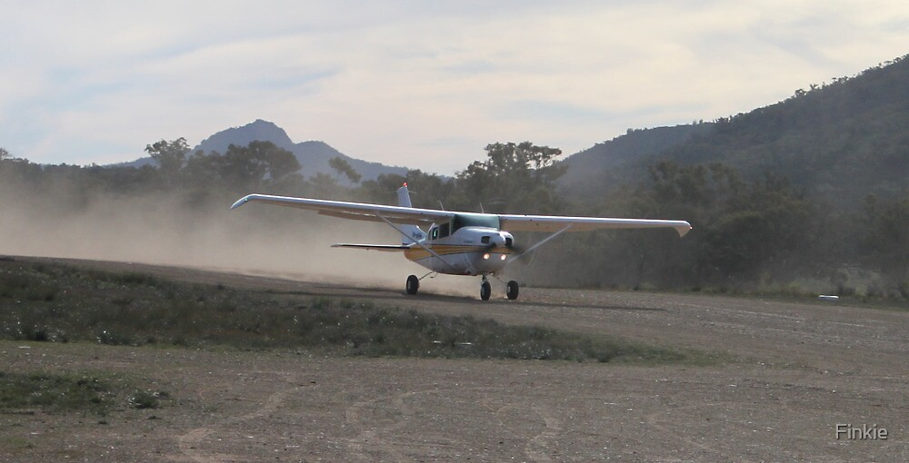 Joy Flight at Wilpena Pound by Finkie