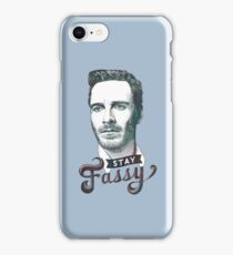 Stay Fassy (blue) iPhone Case/Skin
